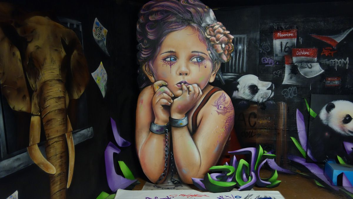 Street Art : Graffitis & Fresques Murales 75009 Paris