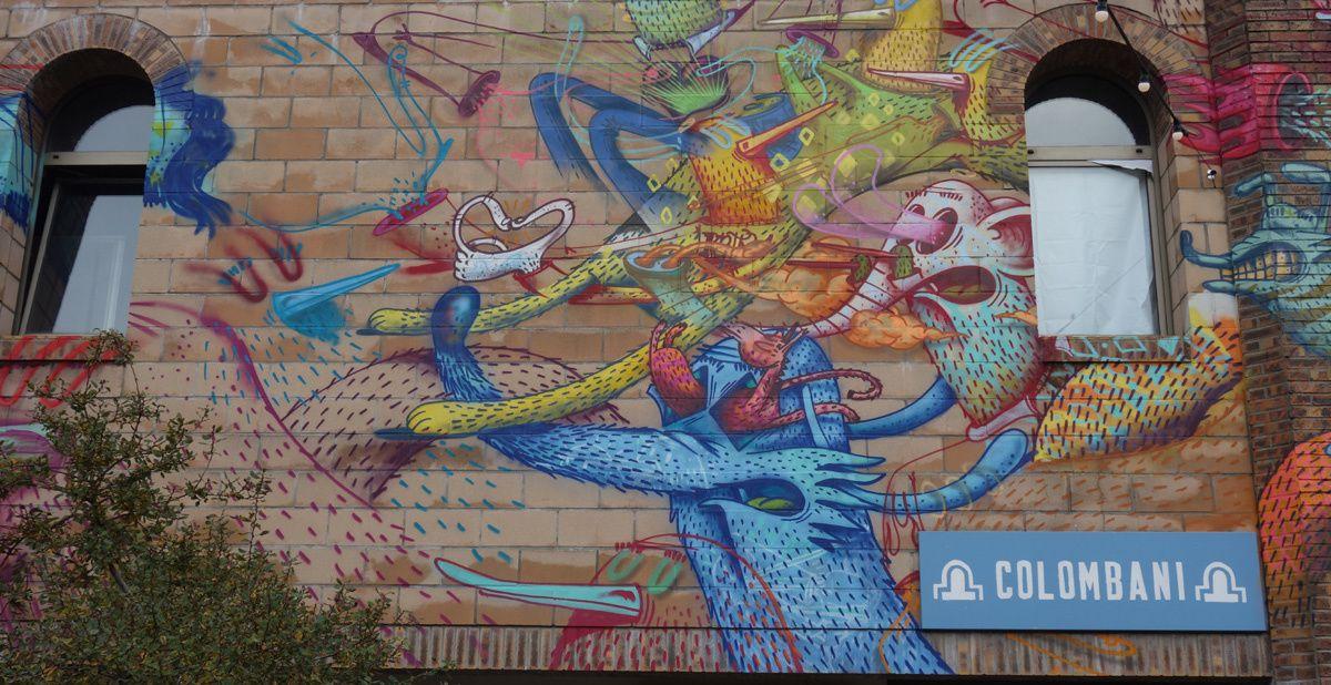 Street Art : Graffitis & Fresques Murales 75014 Paris