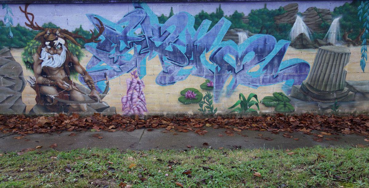 Street Art : Graffitis & Fresques Murales 77445 Savigny le temple