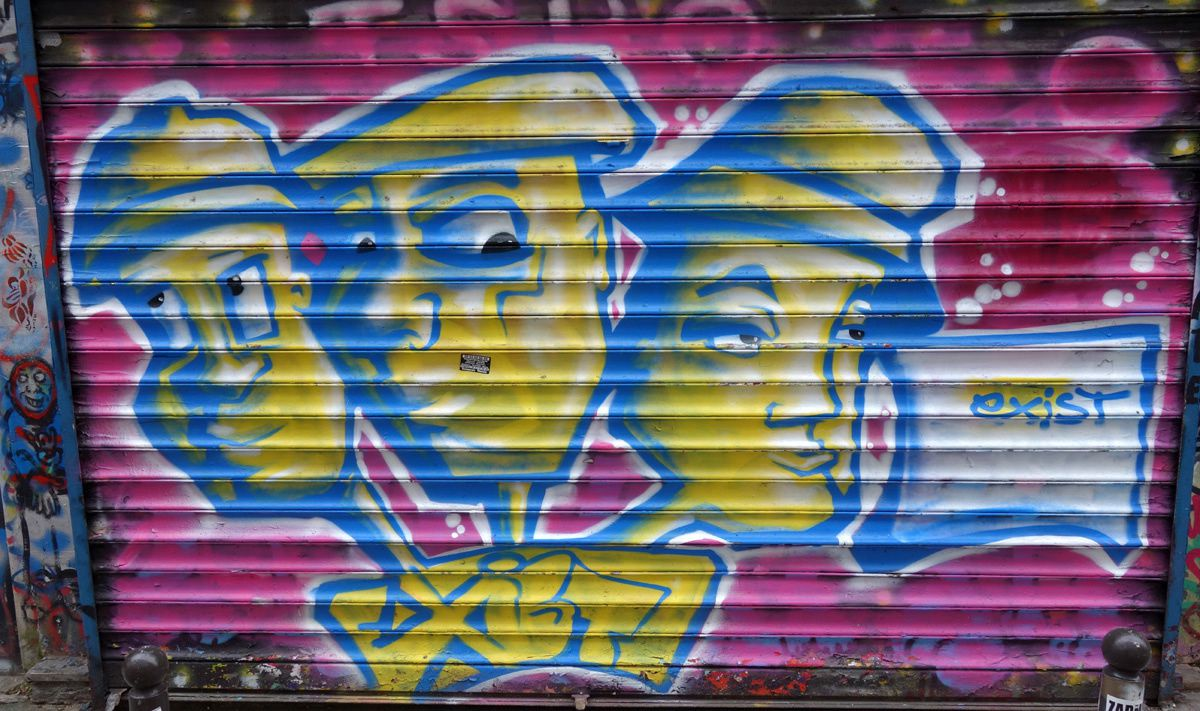 Album - Graffitis Paris Tom 066