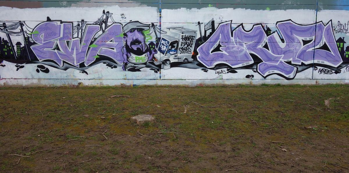 Street Art : Graffitis & Fresques Murales 91570 Saint Michel sur orge