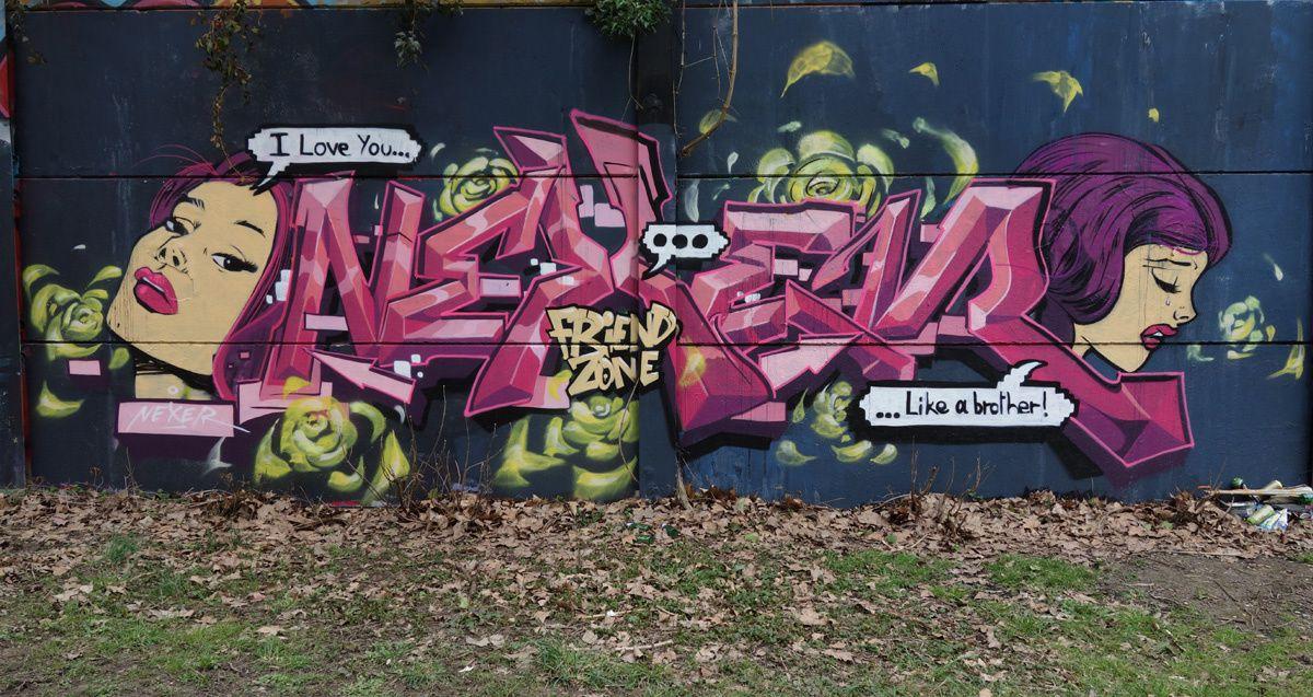 Street Art : Graffitis & Fresques Murales 95582 Sannois