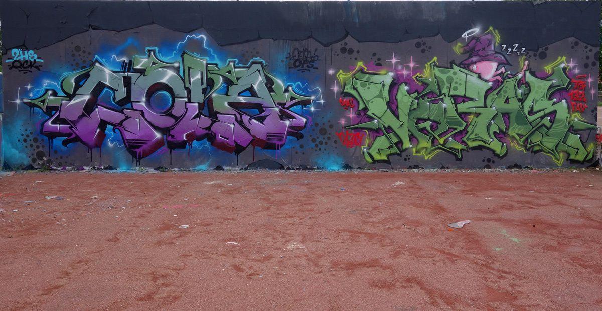 Street Art : Graffitis & Fresques Murales 77083 Champs sur marne