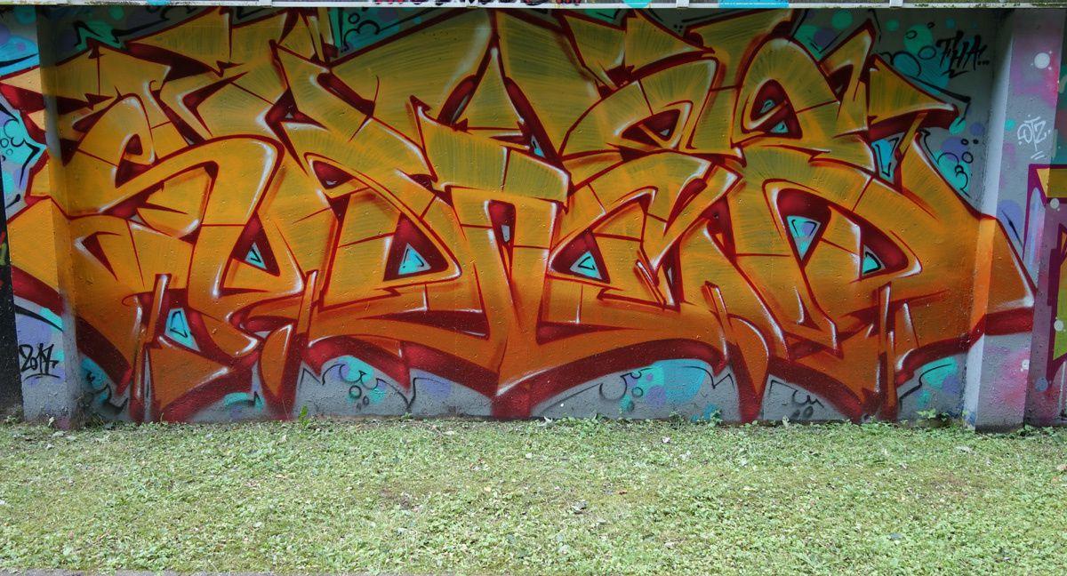 Street Art : Graffitis & Fresques Murales 91471 Orsay