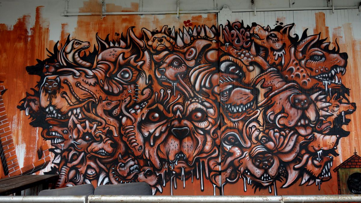 Street Art : Graffitis & Fresques Murales 31000 Toulouse
