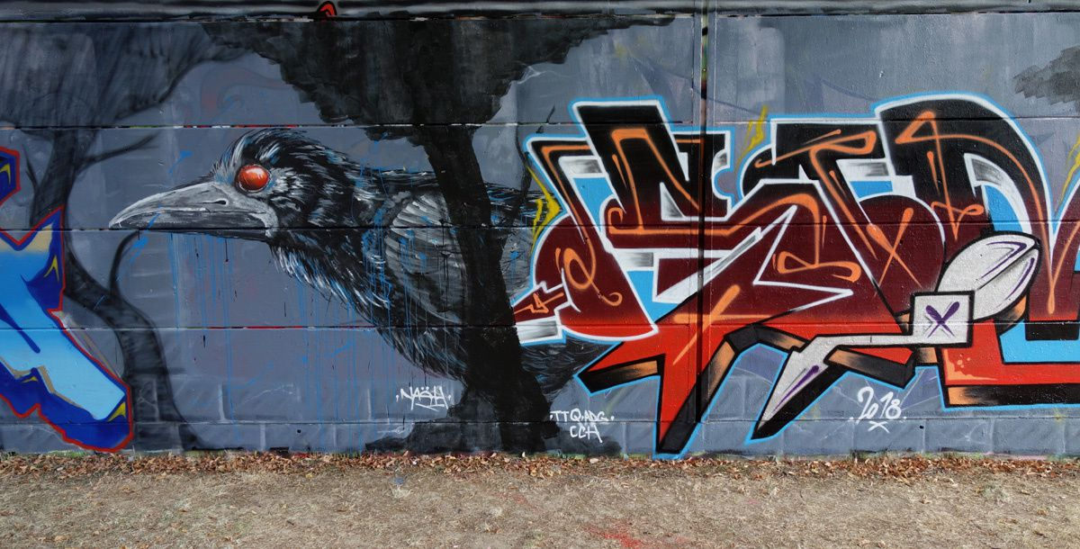 Street Art : Graffitis & Fresques Murales 91570 Saint Michel sur Orge