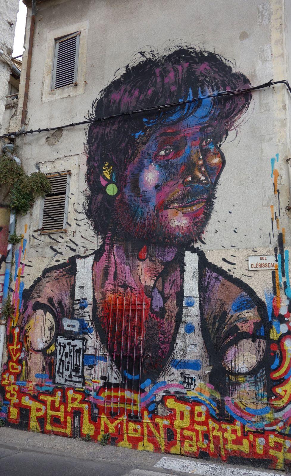 Street Art : Graffitis & Fresques Murales 30189 Nîmes