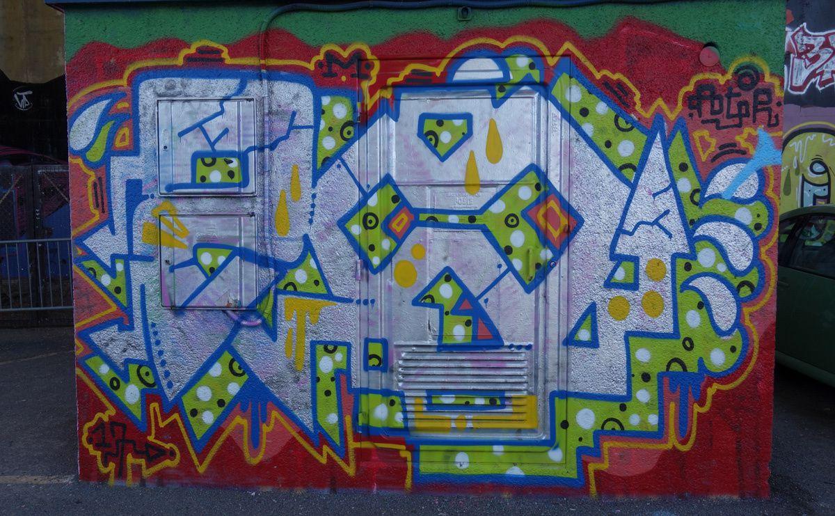 Street Art : Graffitis & Fresques Murales 86194 Poitiers