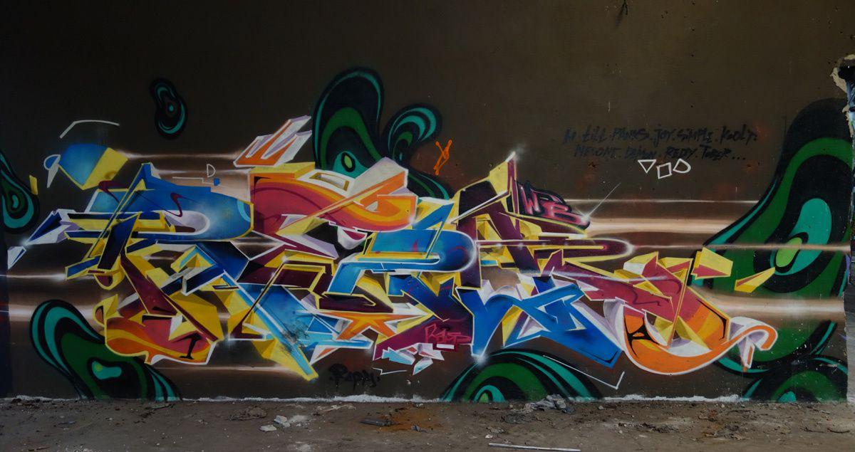 Street Art : Graffitis & Fresques Murales 31022 Aucamville