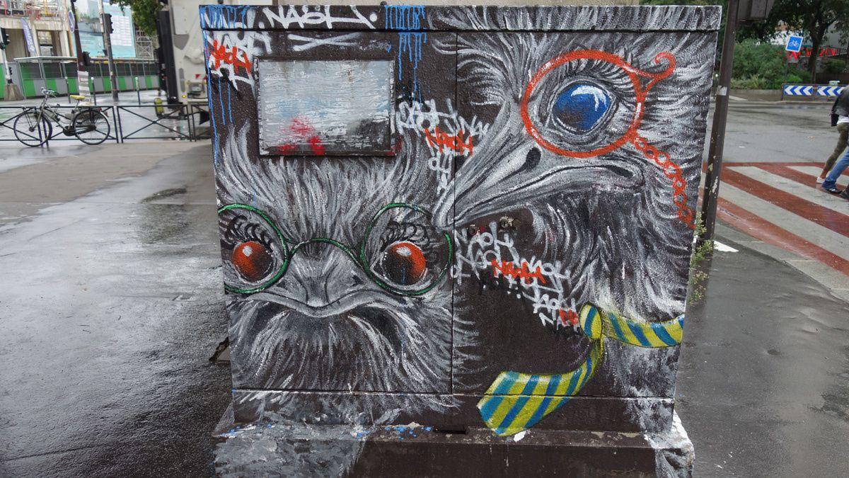 Street Art : Graffitis & Fresques Murales 75012 & 7503 Paris