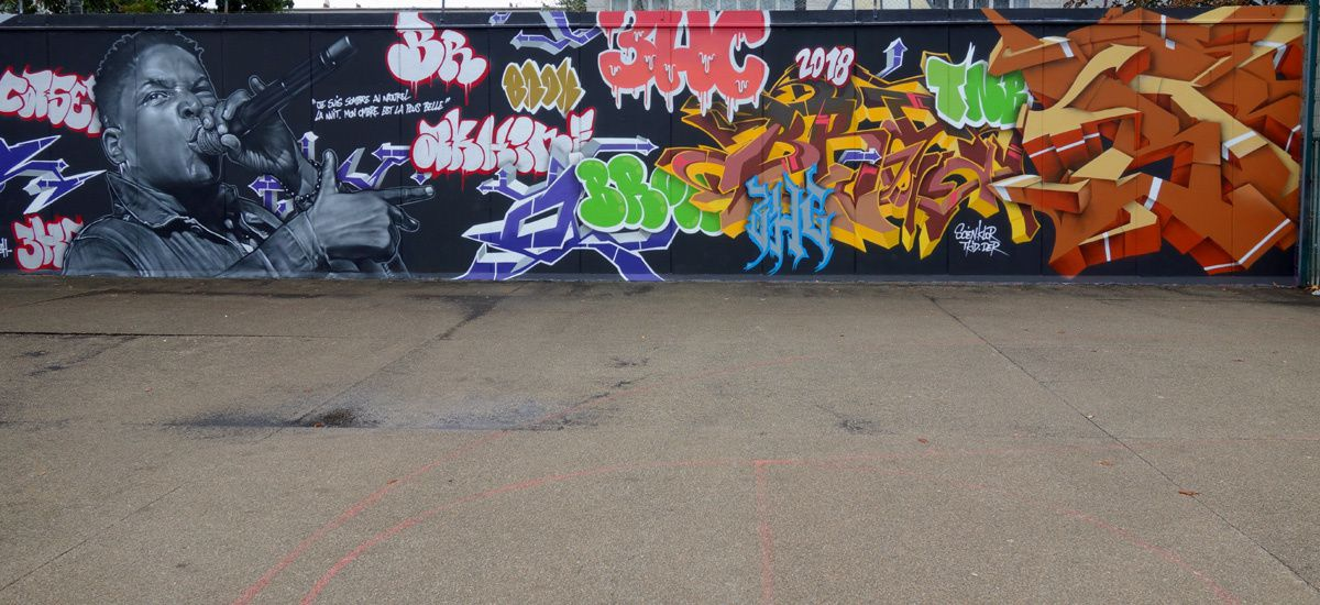 Street Art : Graffitis & Fresques Murales 94400 Vitry sur seine