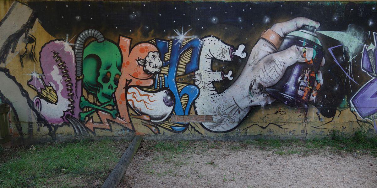 Street Art : Graffitis & Fresques Murales 17001 Gerona (Catalunya)