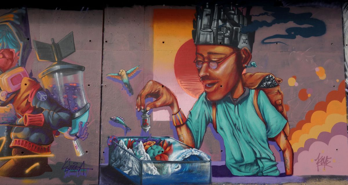 Street Art : Graffitis & Fresques Murales 45232 Olivet