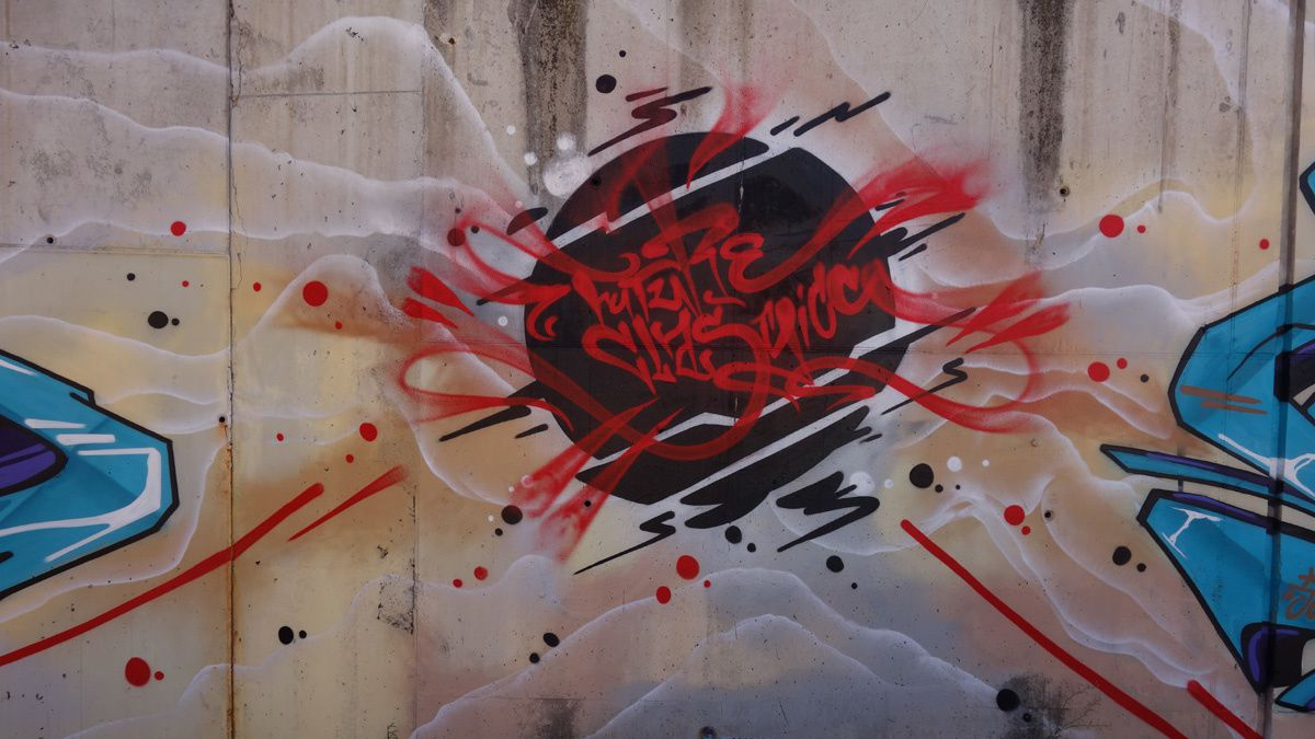 Street Art : Graffitis & Fresques Murales 08205 Sabadell (Catalunya)
