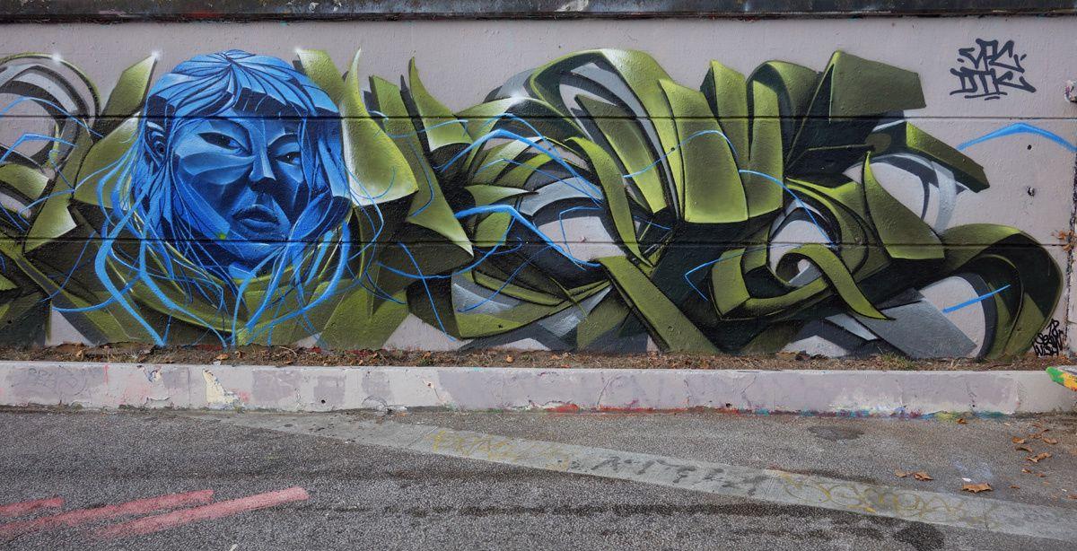 Street Art : Graffitis & Fresques Murales 33000 Ramonville Saint Agne