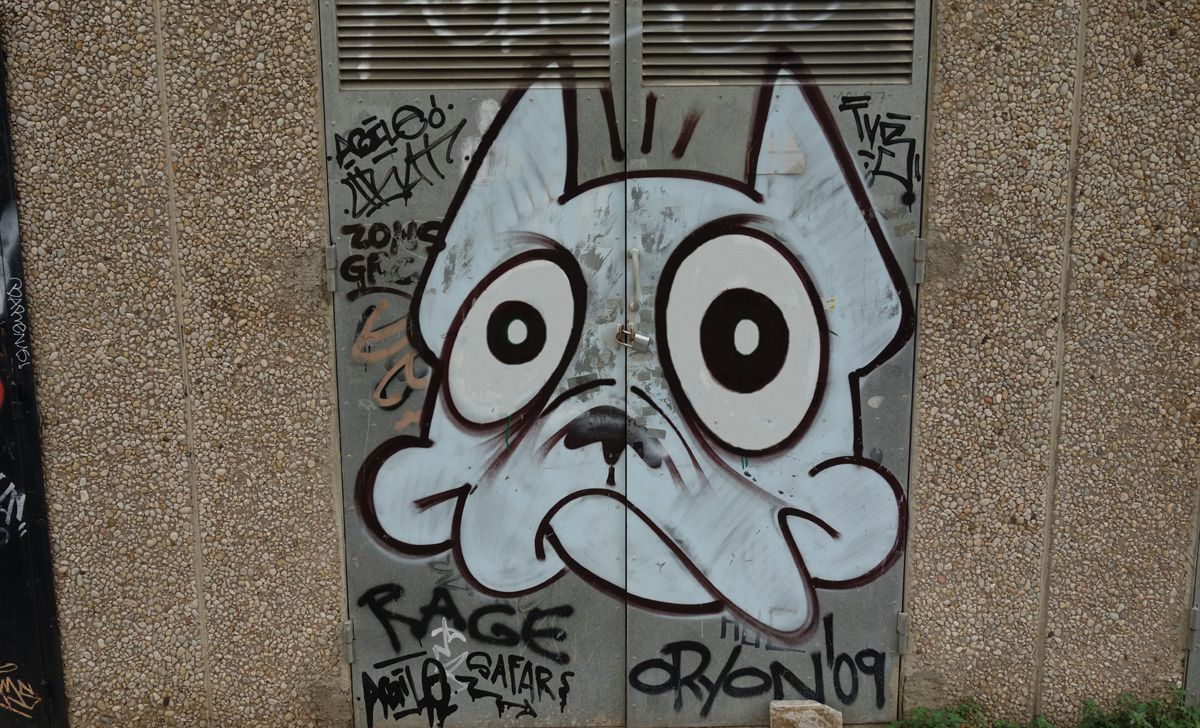 Street Art : Graffitis & Fresques Murales 08440 Barcelona (Catalunya)