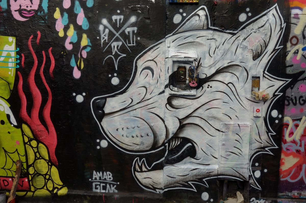 Street Art : Graffitis & Fresques Murales 75020 Paris