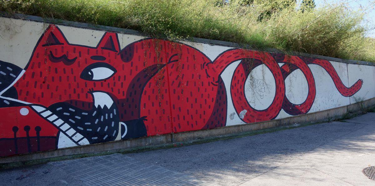 Street Art : Graffitis & Fresques Murales 08035 Barcelona  (Catalunya)