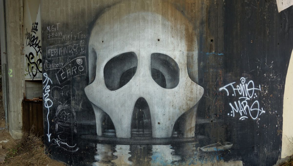 Street Art : Graffitis & Fresques Murale 08310 Argentona (Catalyuna)