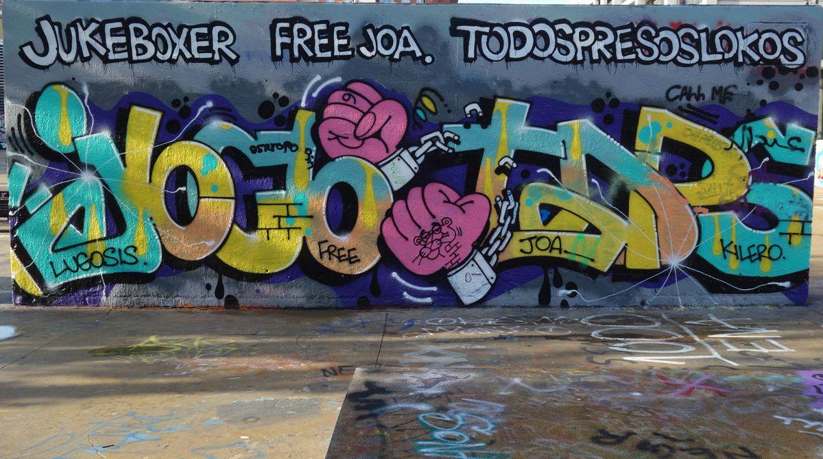 Street Art : Graffitis & Fresques Murale 08001 Barcelona (Catalyuna)