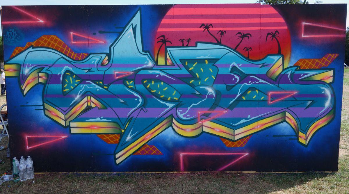 Street Art : Graffitis & Fresques Murales Shake Well Festival 33318 Pessac