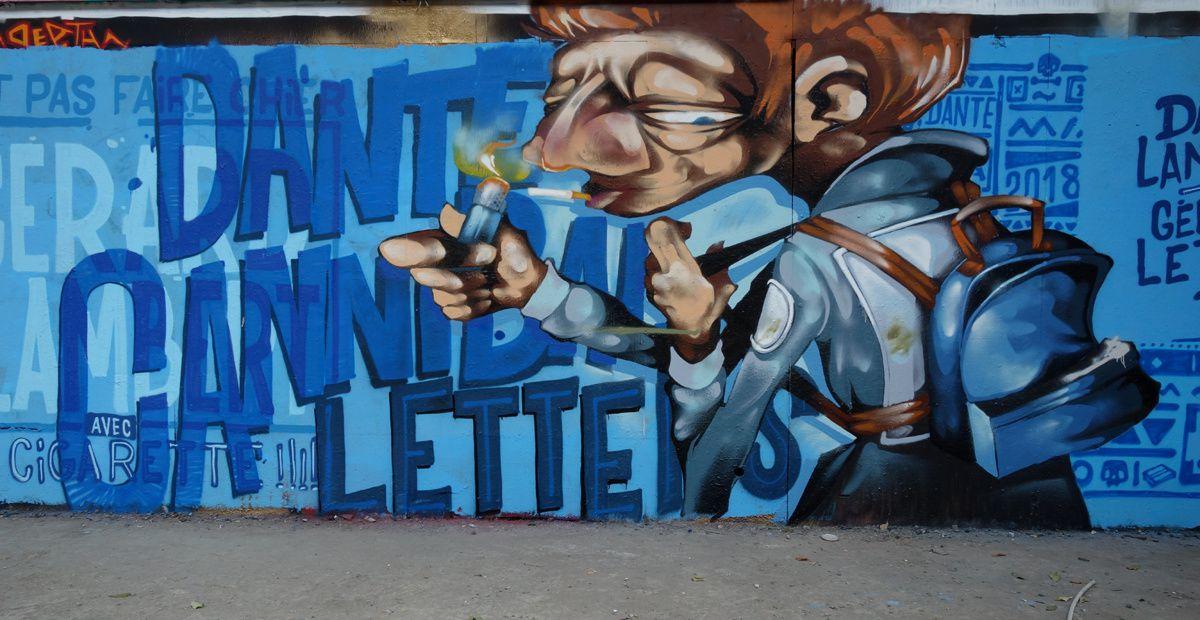 Street Art : Graffitis & Fresques Murales Département Haurs de seine (92)