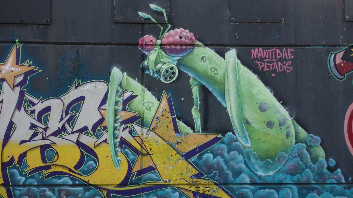 Street Art : Graffitis & Fresques Murales 08214 Badia del Valles (Catalunya)