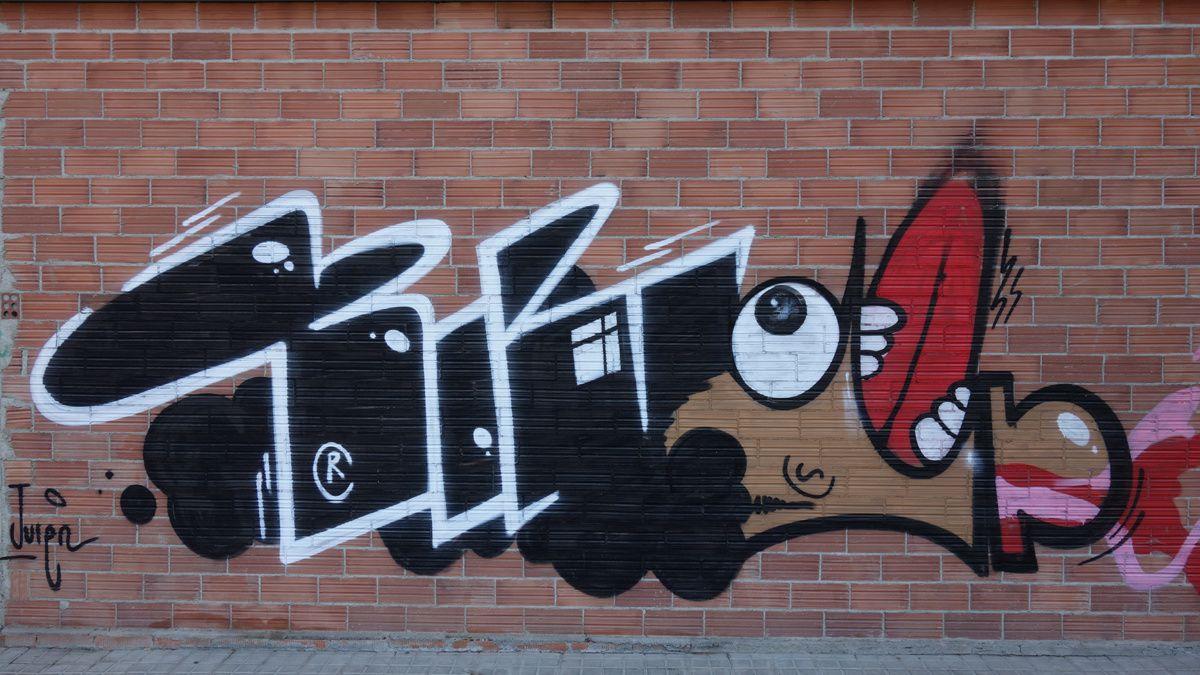 Street Art : Graffitis & Fresques Murales 08200 Sabadell (Catalunya)