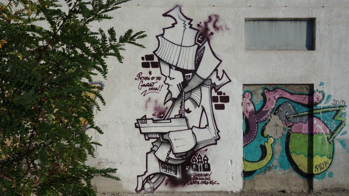 Street Art : Graffitis & Fresques Murales 08290 Cerdanyola del Valles (Catalunya)