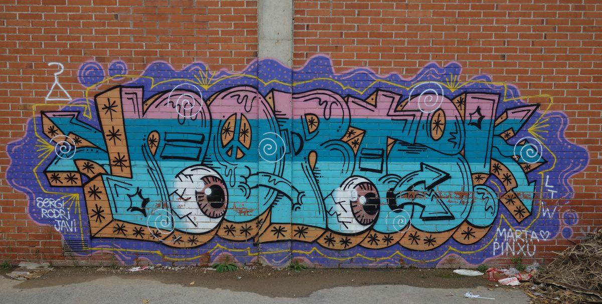 Street Art : Graffitis & Fresques Murale 08232 Viladecavalls (Catalyuna)