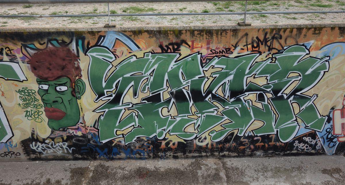 Street Art : Graffitis & Fresques Murales 08911 Badalona (Catalunya)
