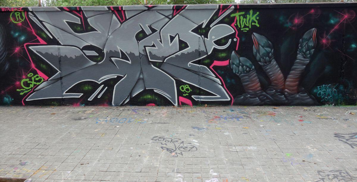 Album - Graffitis Espagne Tom 006