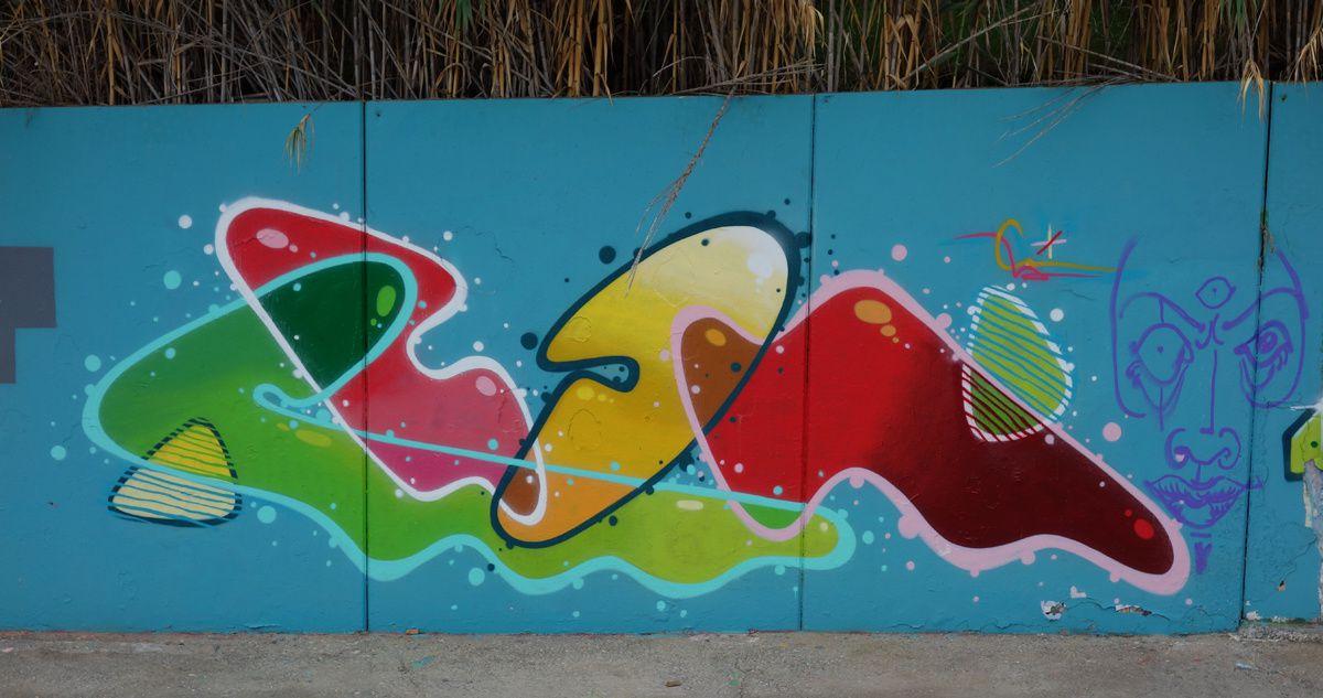 Street Art : Graffitis & Fresques Murales 08320 El Masnou (Catalunya)