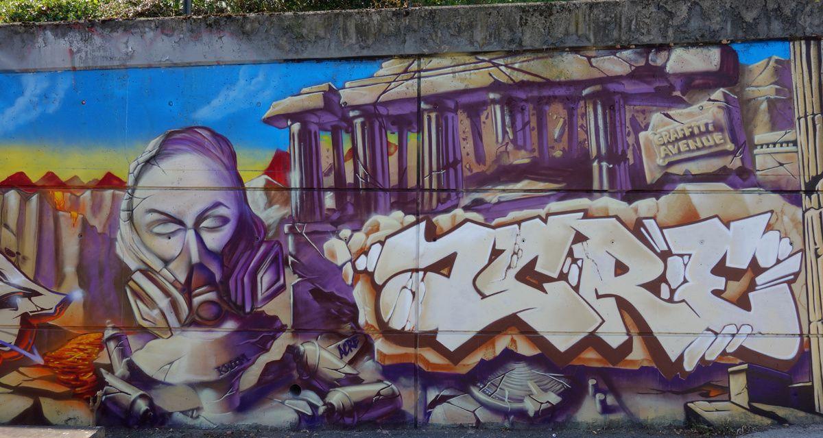 Street Art : Graffitis & Fresques Murale 93066 Saint Denis