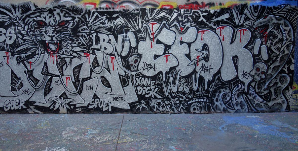 Street Art : Graffitis & Fresques Murale 75019 Paris