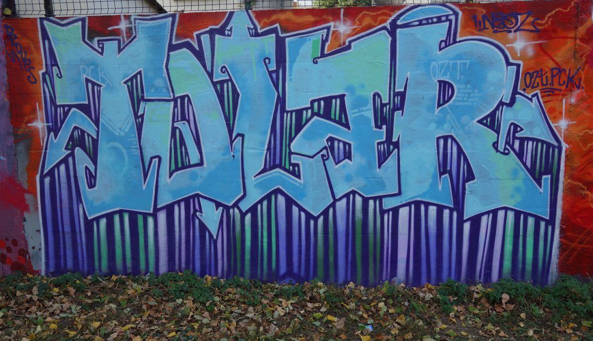 Street Art : Graffitis & Fresques Murale 93006 Bagnolet