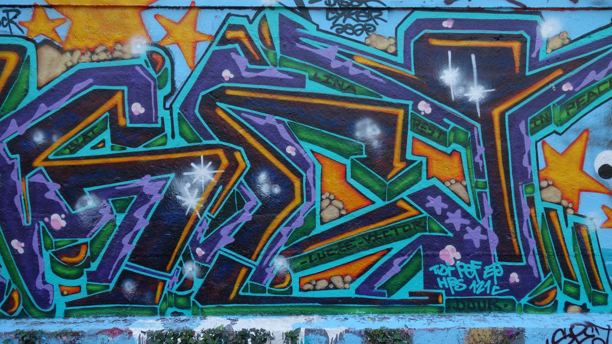 Street Art : Graffitis & Fresques Murale 75020 Paris