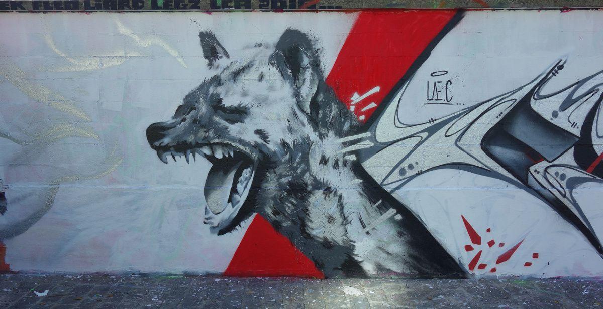 Street Art : Graffitis & Fresques Murale 93055 Pantin