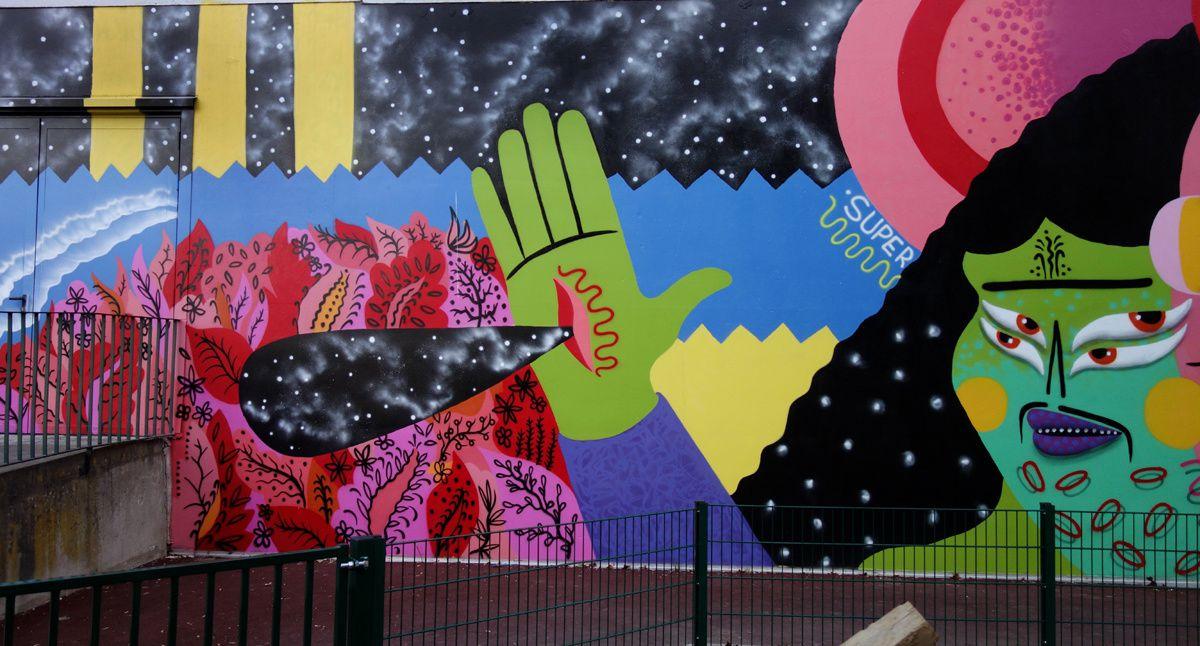 Street Art : Graffitis & Fresques Murale 92046 Malakoff