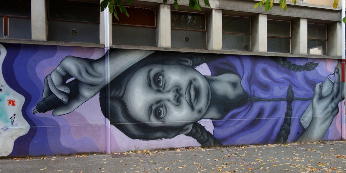 Street Art : Graffitis & Fresques Murale 75014 Paris