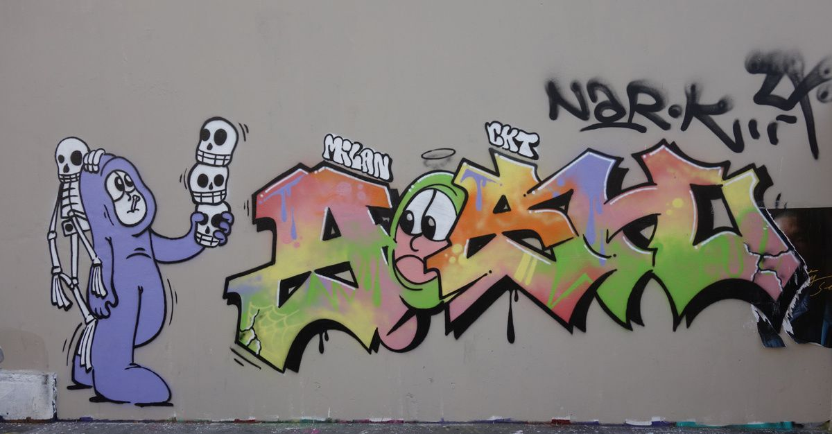 Street Art : Graffitis & Fresques Murale 75011 Paris