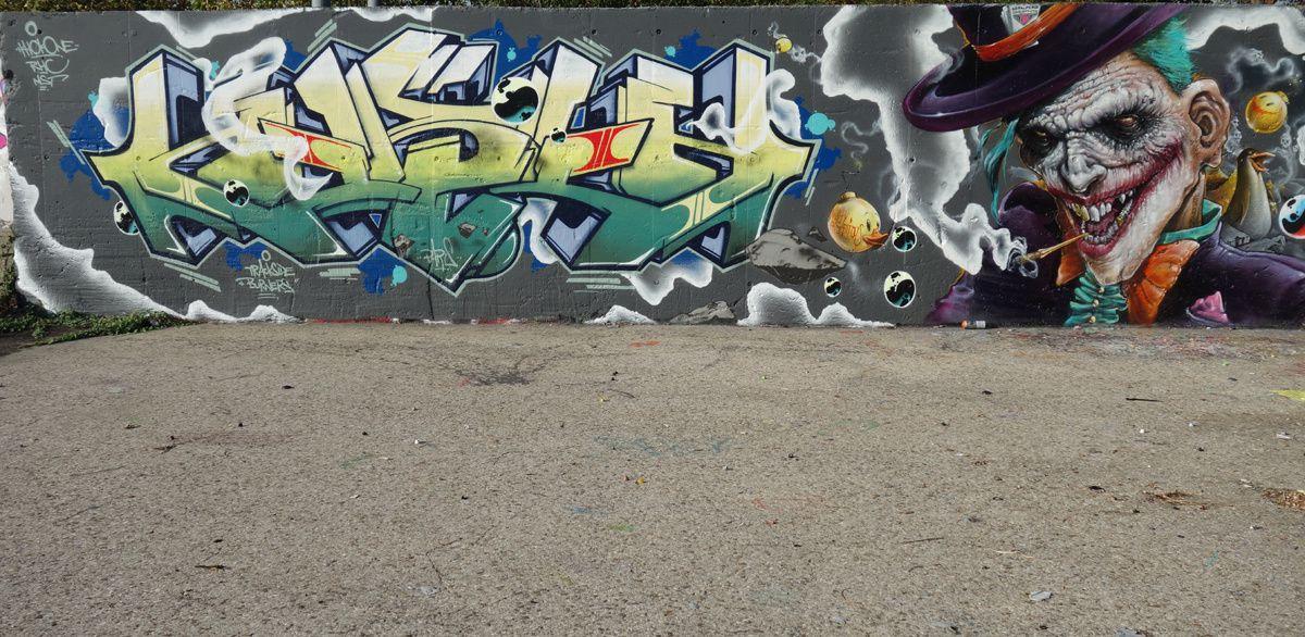 Street Art : Graffitis & Fresques Murale Département Val de marne (94)