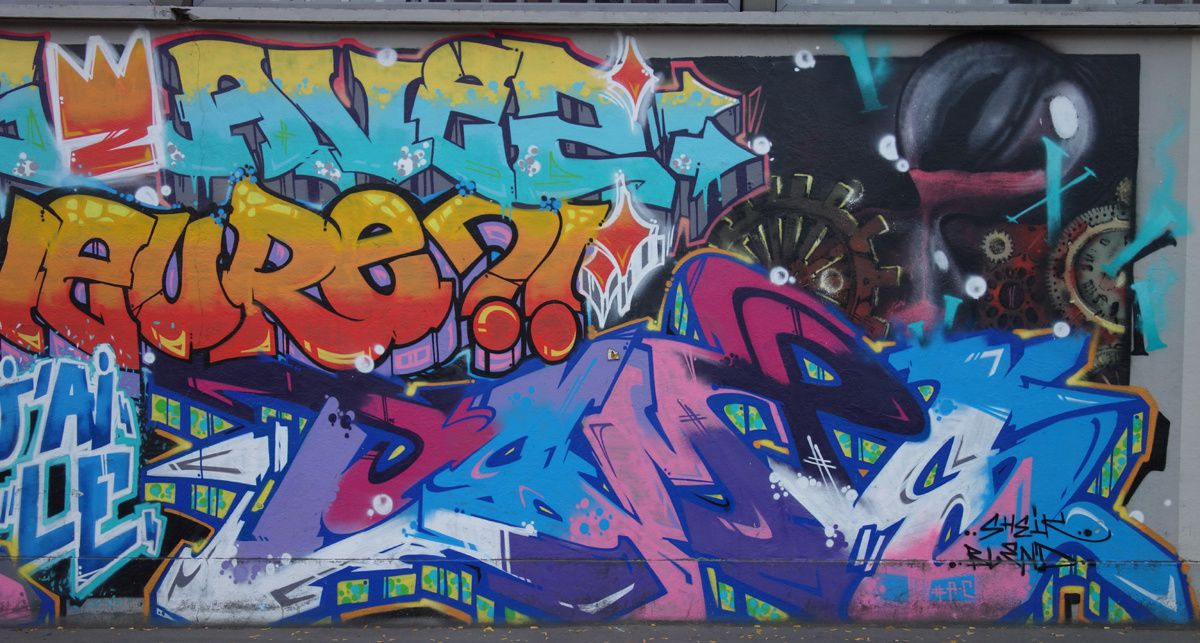 Street Art : Graffitis & Fresques Murale 75015 Paris