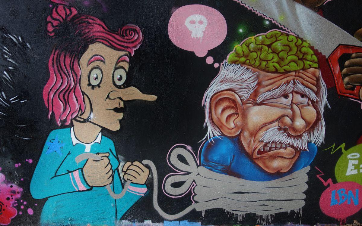 Street Art : Graffitis & Fresques Murale 75013 Paris