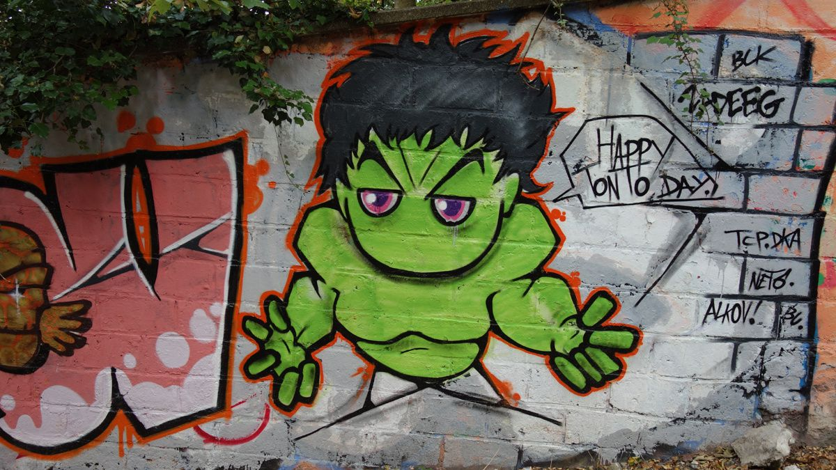 Street Art : Graffitis & Fresques Murale 92023 Clamart