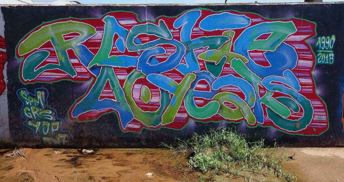 Street Art : Graffitis & Fresques Murales 08850 Gava (Catalunya)