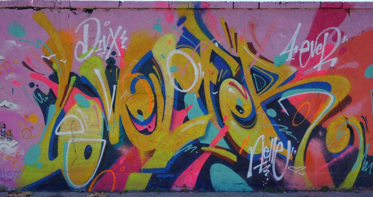 Street Art : Graffitis & Fresques Murales 33119 Cenon