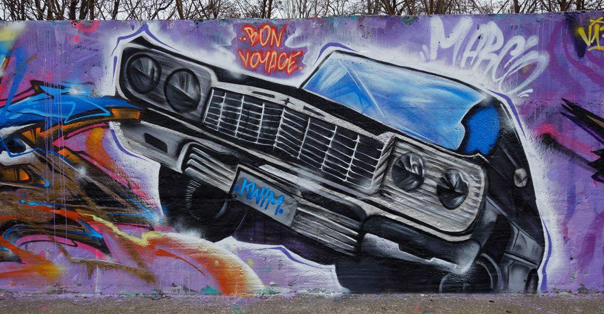 Street Art : Graffitis & Fresques Murales Département Val de Marne (94)
