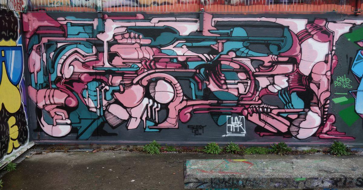 Street Art : Graffitis & Fresques Murales 93038 Montreuil