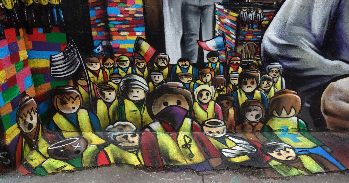 Street Art : Graffitis & Fresques Murales 75011 Paris